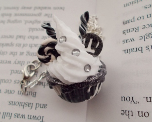 Wonder Witch Cupcake Necklace