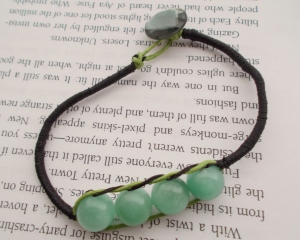 Wrapped Cord Amazonite Bracelet