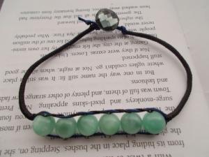 Wrapped Cord Bracelet - Blue